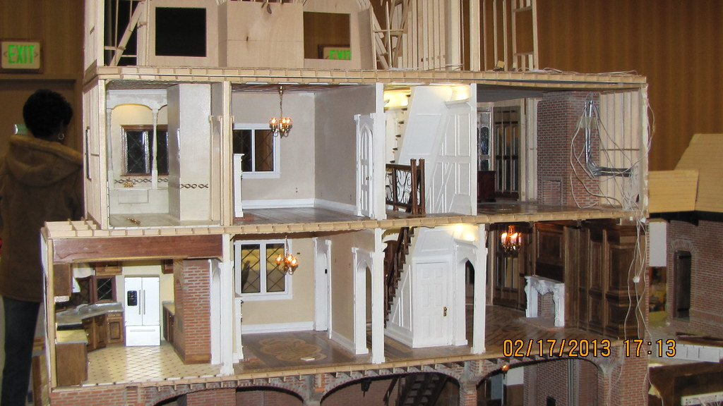 Modern Tudor Dollhouse Interior Progress Jeremy Paul
