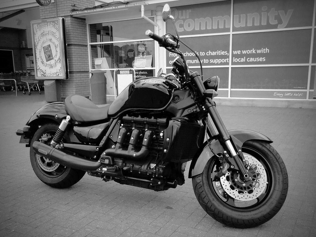triumph rocket iii roadster motorcycle maxwell hamilton flickr. Black Bedroom Furniture Sets. Home Design Ideas