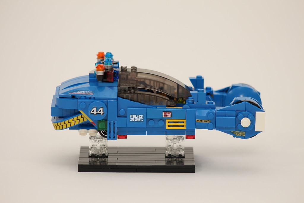 """Blade Runner - Spinner   I was inspired by Kaitimar's Lego """"…   Flickr"""