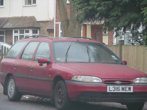 1993 ford mondeo glx estate old surrey cars flickr. Black Bedroom Furniture Sets. Home Design Ideas