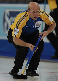 Edmonton Ab.Mar5,2013.Tim Hortons Brier.Alberta skip Kevin Martin,CCA/michael burns photo | by seasonofchampions