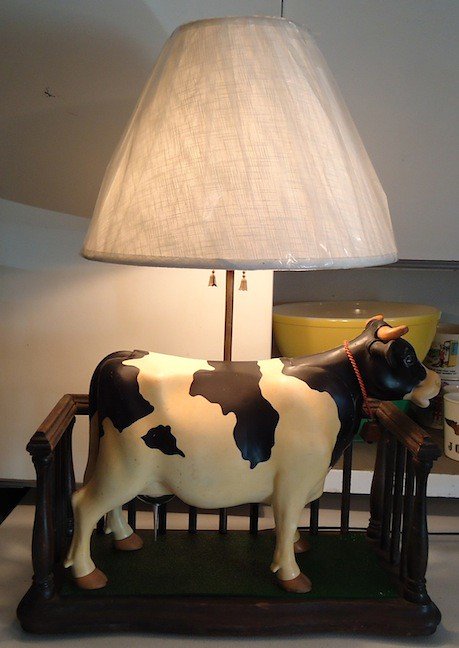 Milky the Marvelous Milking Cow Lamp | products4industry | Flickr