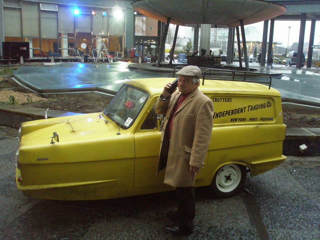 del boy amp car maurice canham as del boy edmond wells
