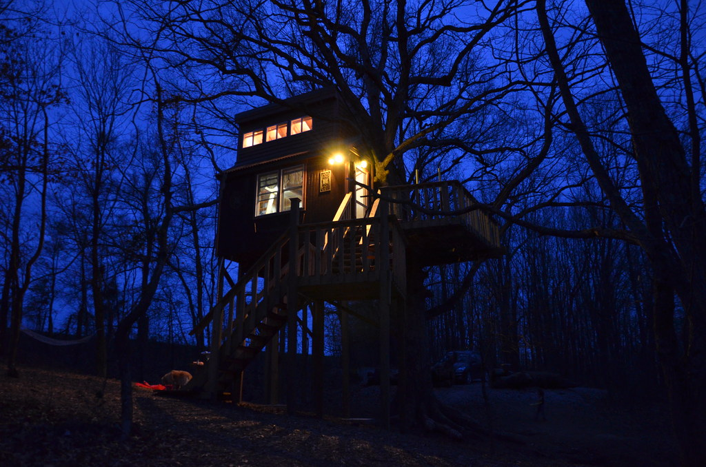Cabin Tree House in Southern Illinois | Timber Ridge ...