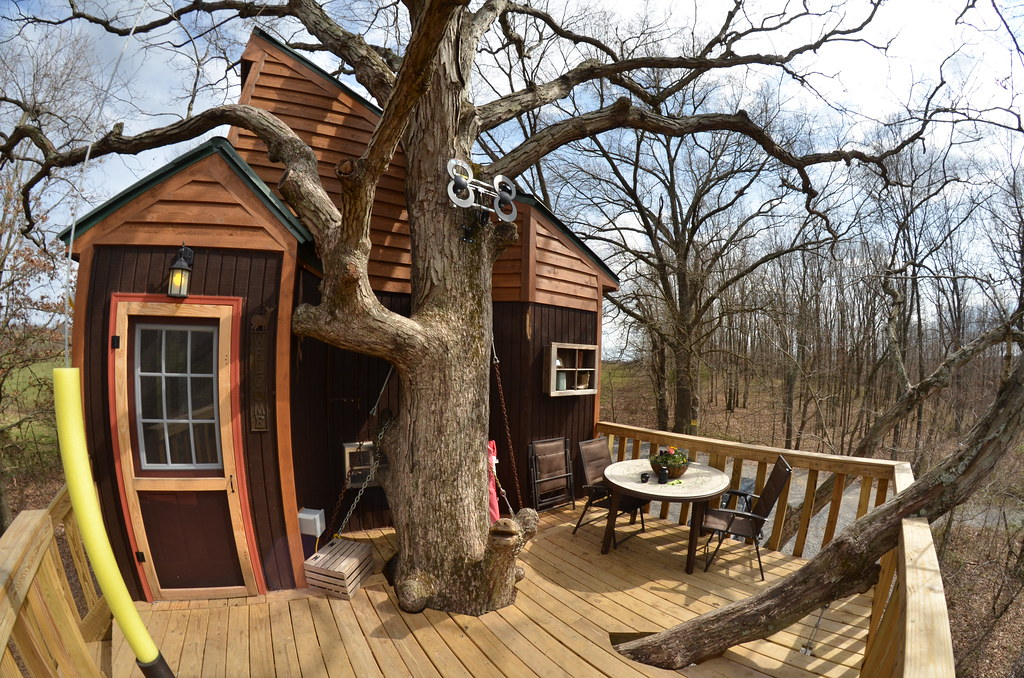 Southern Illinois 379 Timber Ridge Outpost Cabins Garden Flickr