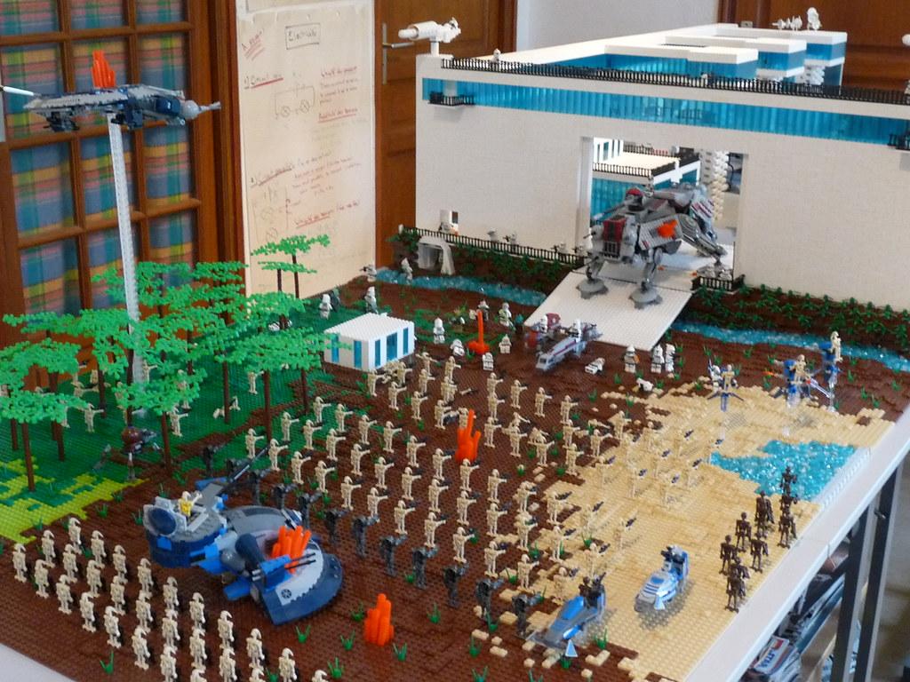 Лего большие самоделки