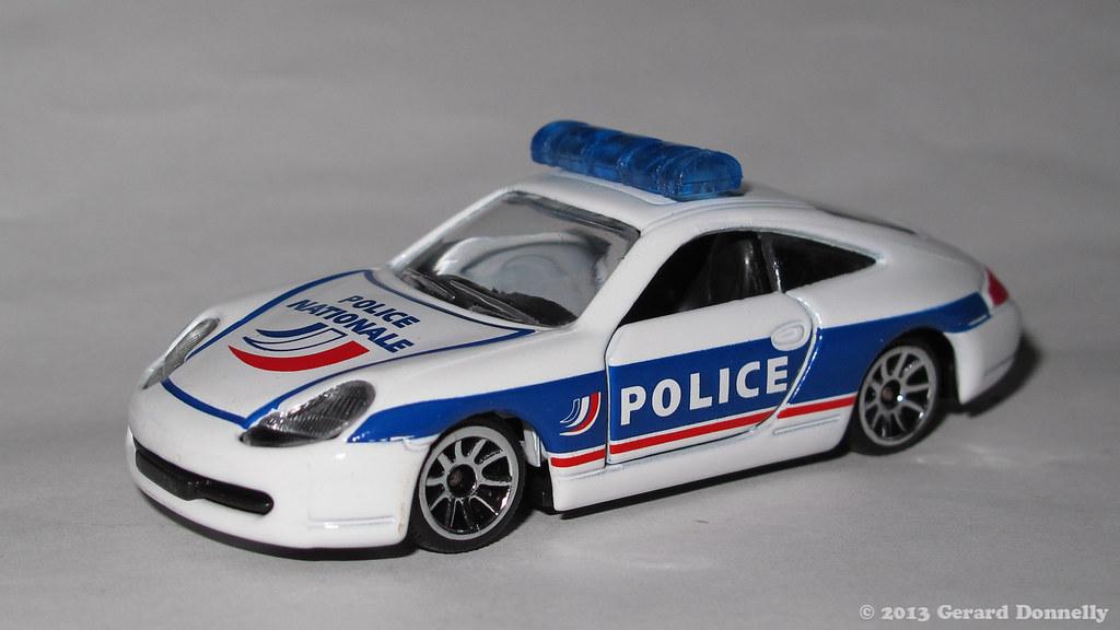 Porsche 996 Police Nationale France Majorette 3pack