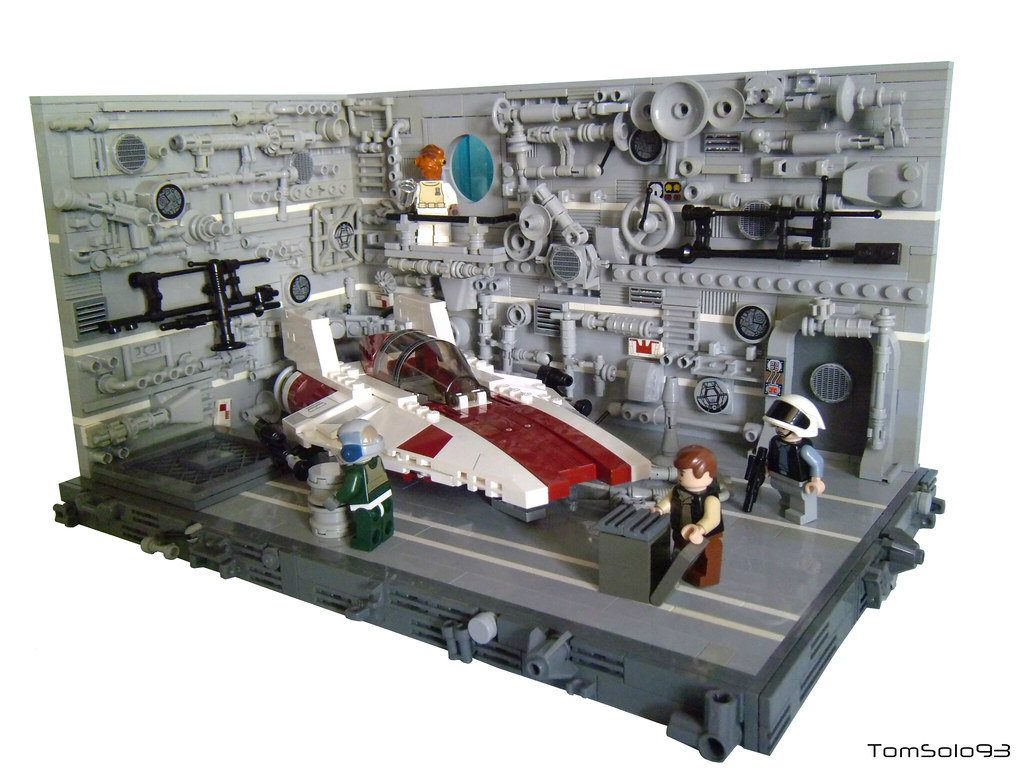 How To Build A Lego Airplane Hangar