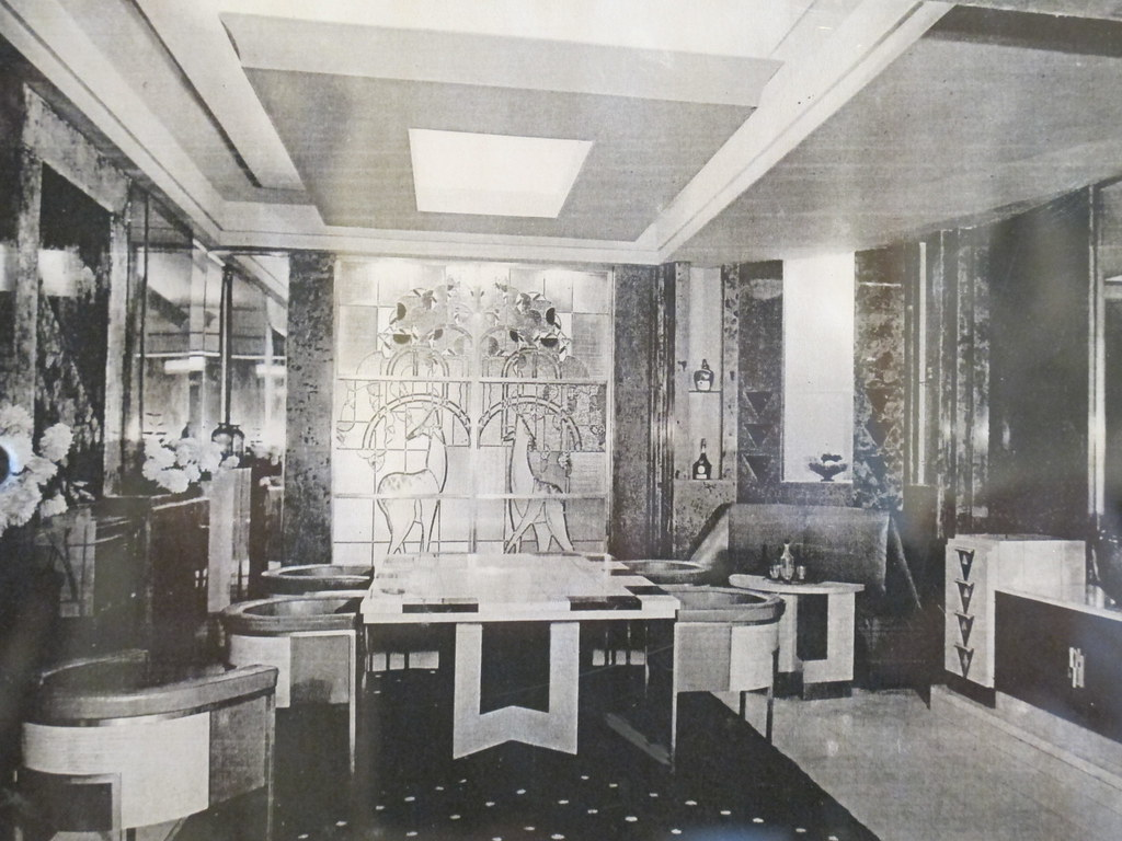 Salle A Manger Exposee Au Salon D Automne De 1928 Musee Flickr