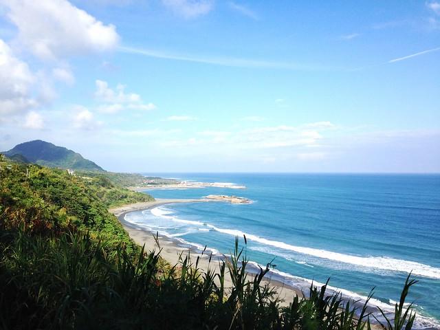 台灣的東海岸。攝影:廖靜蕙