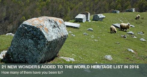 2016 world heritage