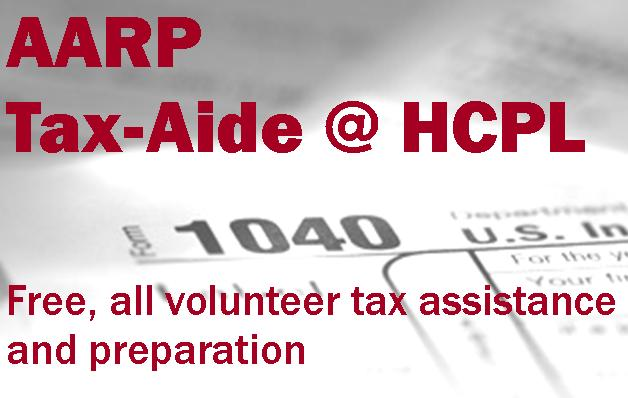 AARP Tax-Aide @ HCPL