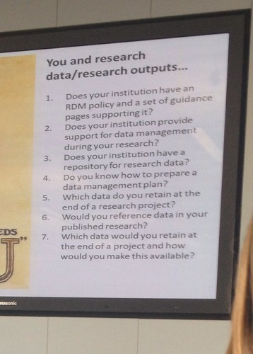 7 questions to ask you uni about research policy #jiscmrd from @simonhodson99 | by adamprocter