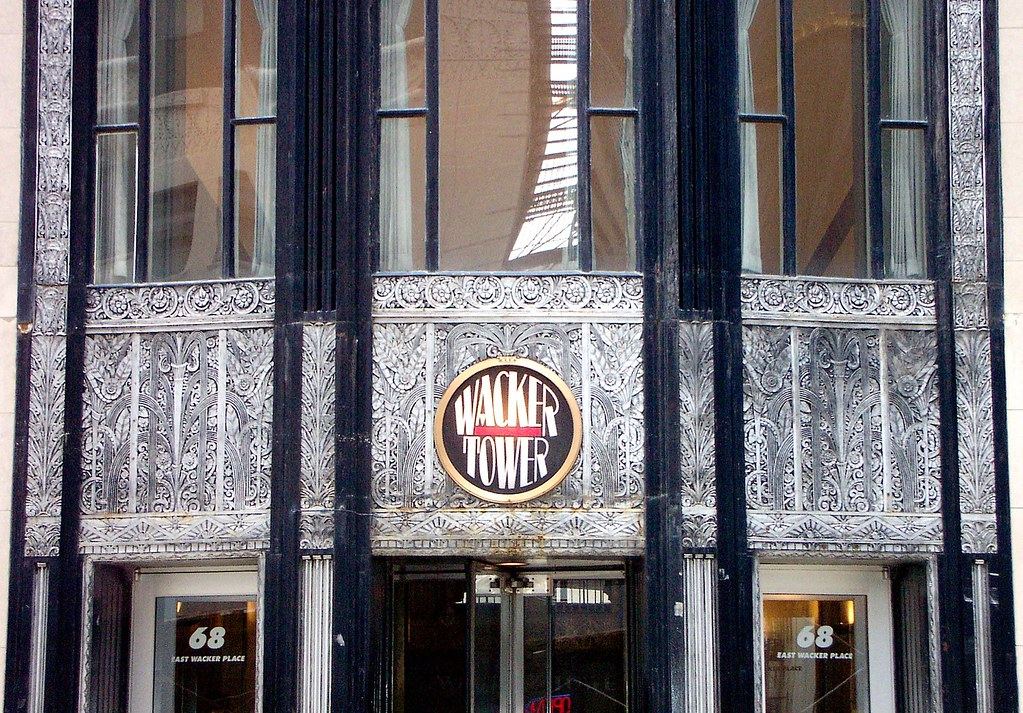 Wacker building aka chicago motor club building art de for Aaa motor club chicago