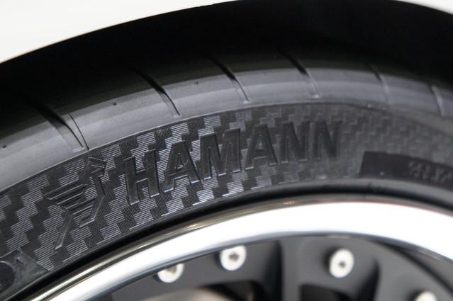 vredestein ultrac vorti r tyres with the hamman logo. Black Bedroom Furniture Sets. Home Design Ideas