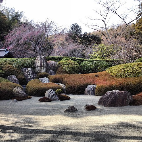 japanese zen garden dry landscape garden at meigetsuin t flickr. Black Bedroom Furniture Sets. Home Design Ideas