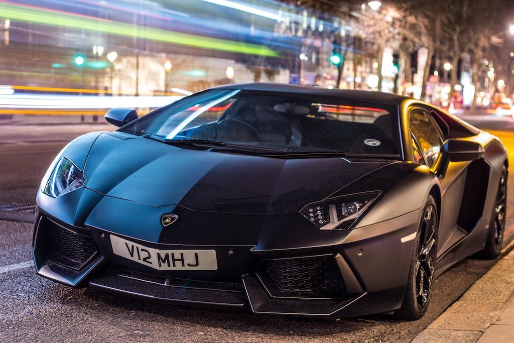 Matte Black Lamborghini Aventador Shaker Media Flickr
