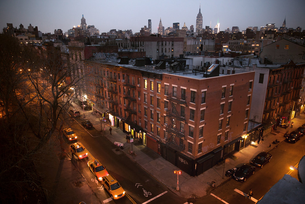 East Village From Above United States New York New Yo