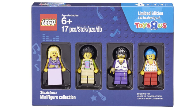 LEGO Minifigure Collection Toys R Us - Musicians