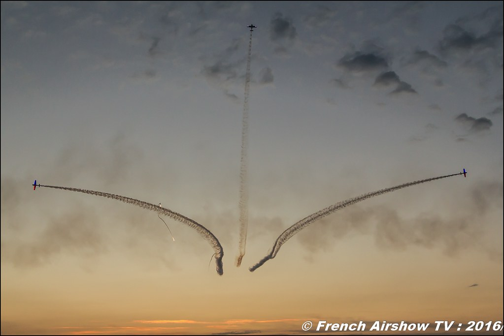 Patrouille Swift Sunset , Meeting Aerien Roanne 2016