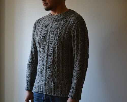 Men's Aran Pullover | by roko20