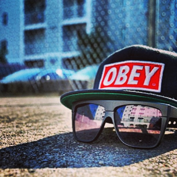 #obey #rayban #swag | black bloody | Flickr