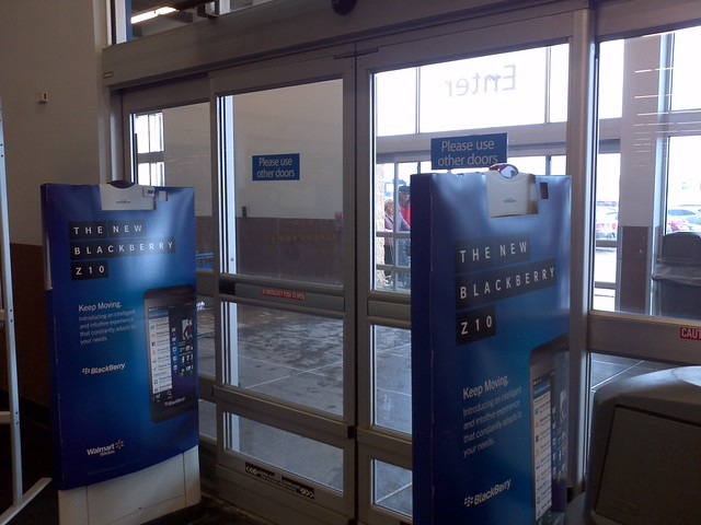 Automatic doors at walmart supercentre flickr photo