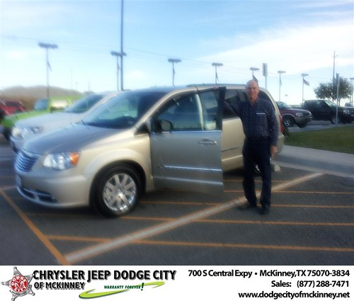 Congratulations To Dale Strohmeyer On The 2013 Chrysler To