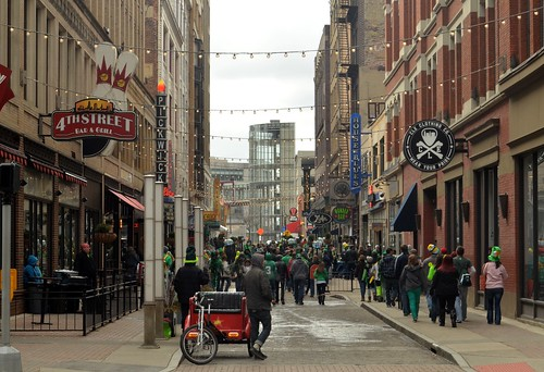 Cleveland, Ohio St. Patrick's Day on East 4th Street | by EDrost88