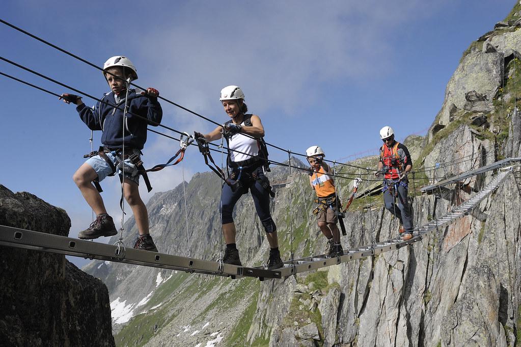 Klettersteig Eggishorn : Klettersteig am eggishorn alpinismus weckt die guten sinneu2026 flickr