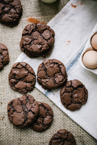 salted spicy double chocolate cookies | by Beth Kirby | {local milk}