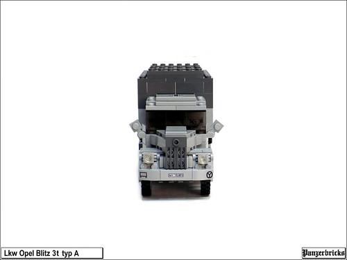 Lkw Opel Blitz 3t Typ A de Panzerbricks