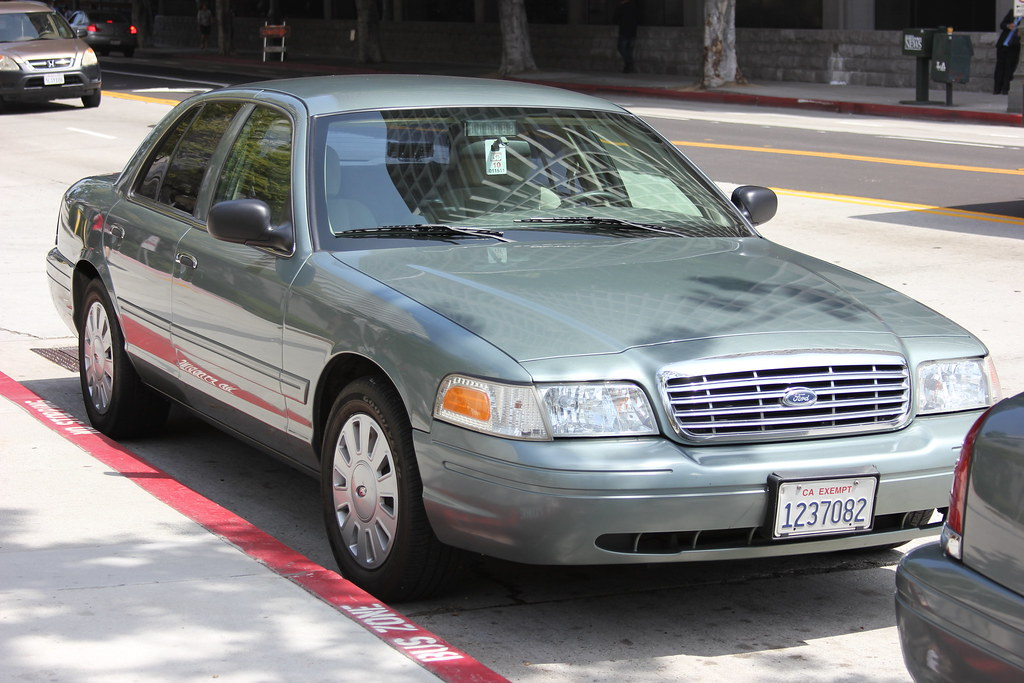 Cars Police Car >> LAPD Unmarked Crown Vic | Near CCB in Grand Park | Flickr