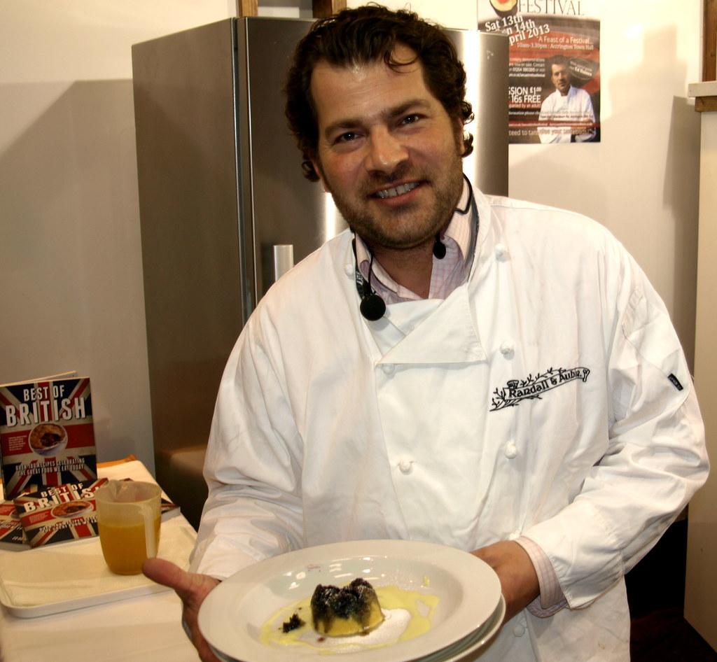Ed Baines Cookery Demo In Accrington - 10