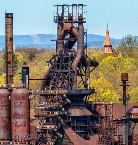 Bethlehem Steel - Factory and Steeple | by Bob Jagendorf