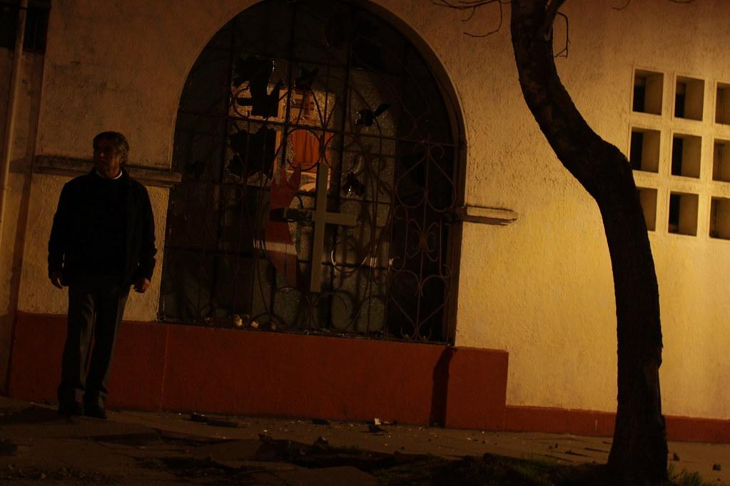 Ataque a Colegio Metodista de Concepción.
