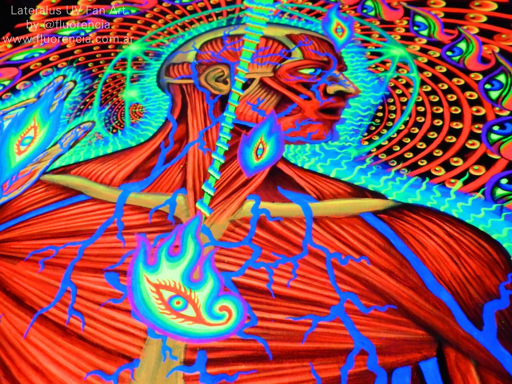 Lateralus - Tool UV Fan art | Lateralus es la tapa de un ...