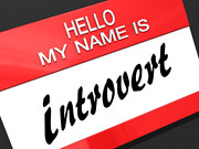 Hello My Name Is Introvert | by One Way Stock