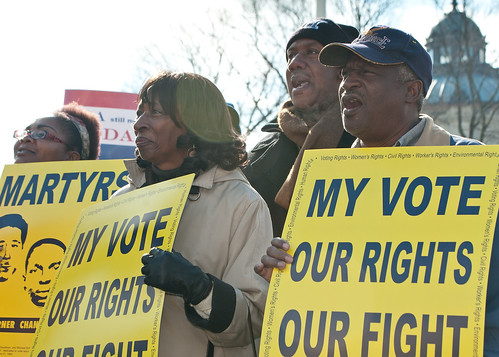 Protect the Voting Rights Act rally at the SCOTUS | by SEIU International