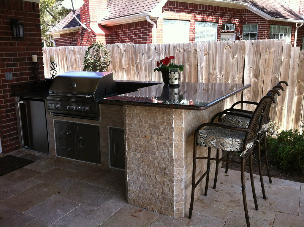 Outdoor Kitchen In Sugar Land Texas Texas Custom Patios Flickr