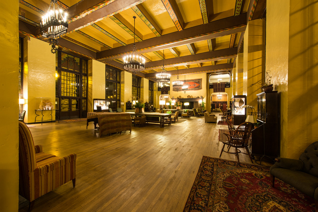 The Overlook Hotel The Colorado Room The Ahwahnee Hotel