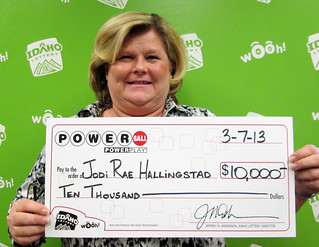 Jodi Rae Hallingstad - $10,000 Powerball | by Idaho Lottery
