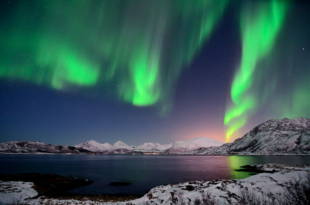 Northern Lights Last Night John A Hemmingsen Flickr