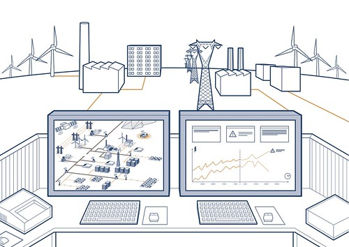 Smart Grid Control Center | by BCM Public Relations