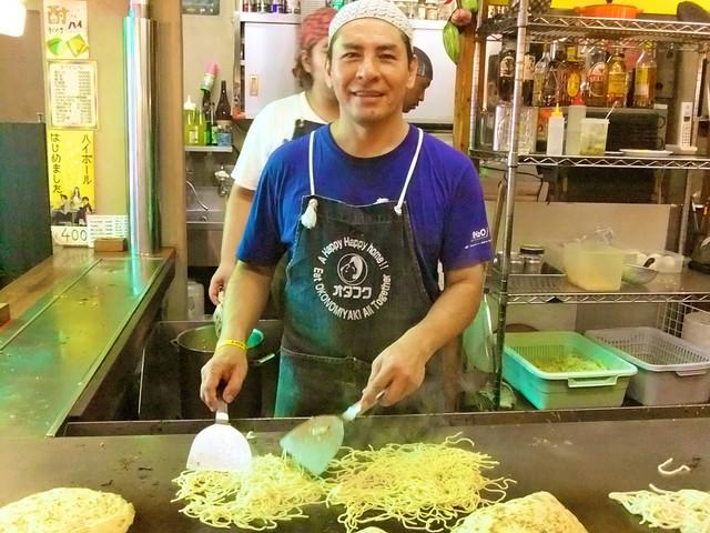 お好み焼き ロペズ Lopez Fernando 広島市西区楠木町 Hiroshima Okonomiyaki