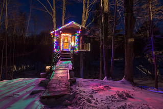 The Tiny Fern Forest Treehouse - Lincoln, VT - 2013, Feb - 04.jpg | by sebastien.barre