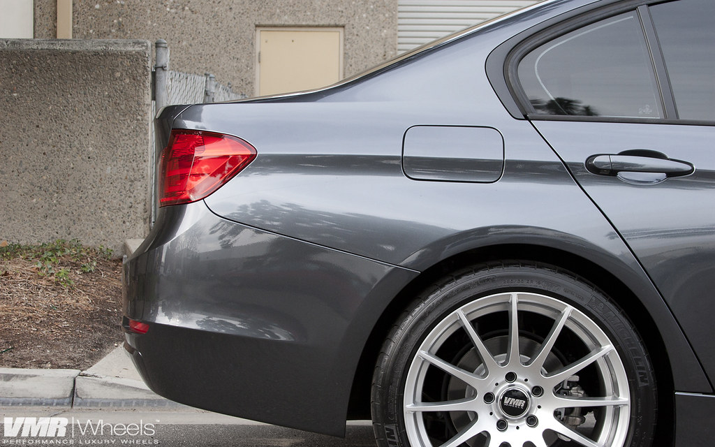 Vmr Wheels 19 Quot Hyper Silver V721 On Mineral Gray Bmw F30