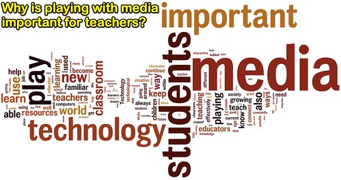 Why is playing with media important for teachers? | by Wesley Fryer