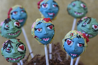 Zombies in Love Cake Pops | by Sweet Lauren Cakes