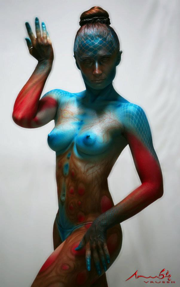Free Nude Body Painting